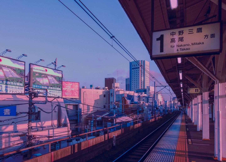 Bahnhofsszenerie von surudenise