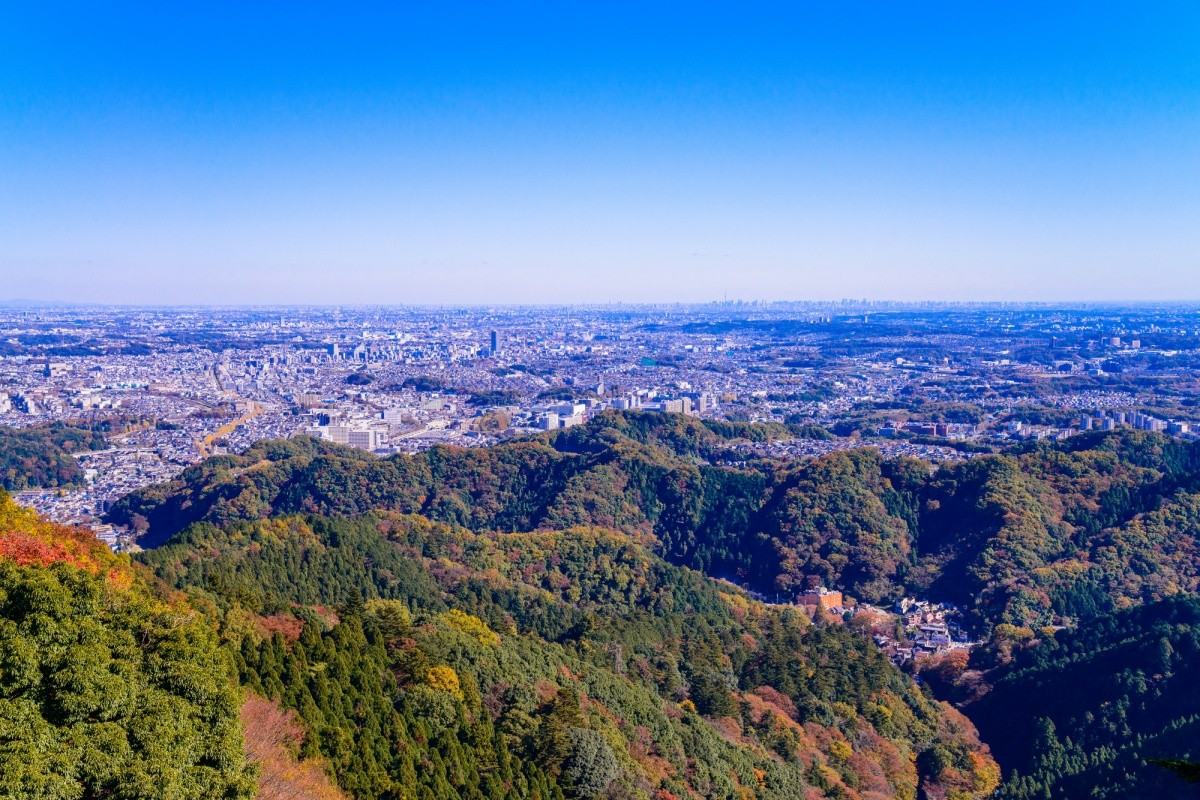 Ausblick vom Berg Takao