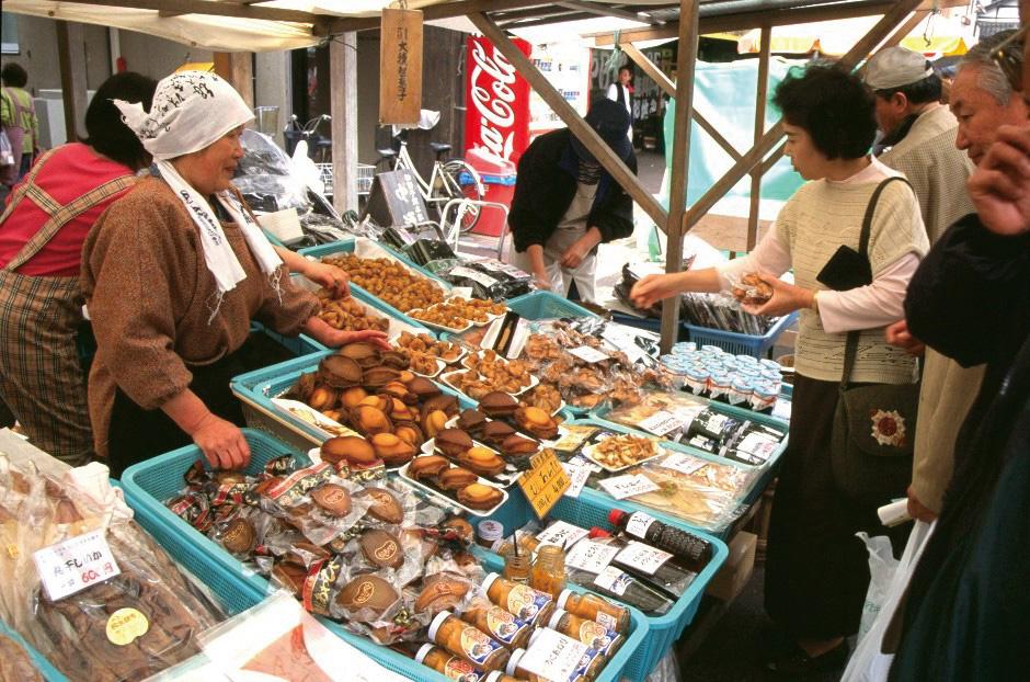 Morgenmarkt in Wajima