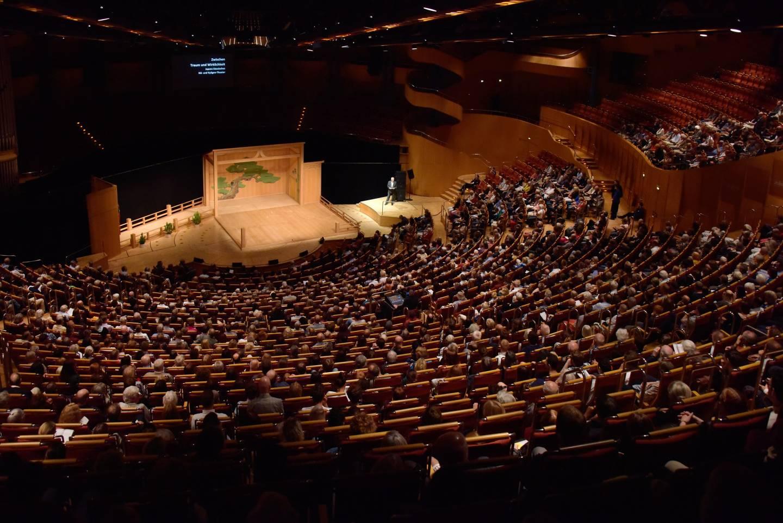 Noh-Bühne in der Kölner Philharmonie
