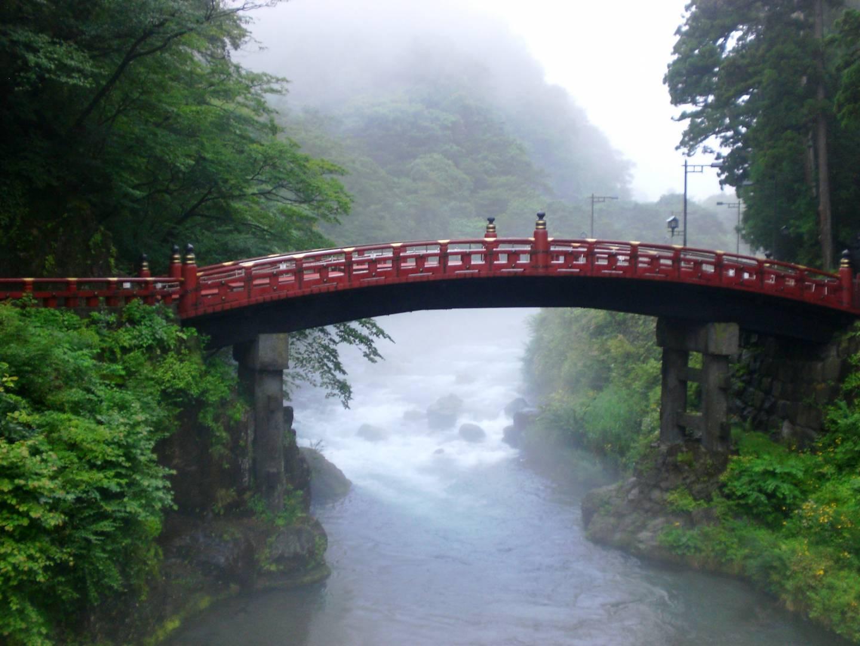 heilige Brücke (shinkyō) in Nikko