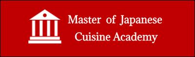 Logo Master of Japanese Cuisine Academy