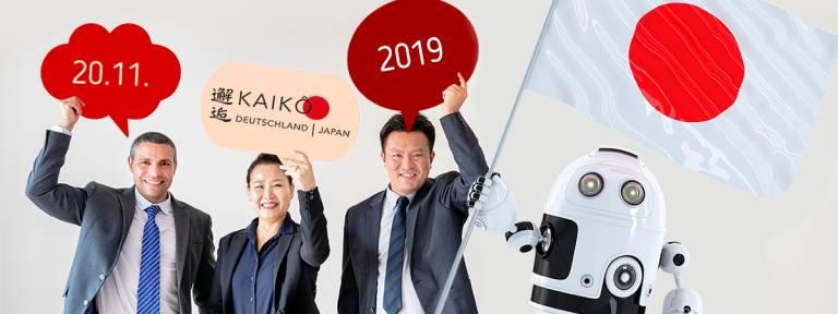 Flyer für Kai Ko - Deutsch-Japanischer Wirtschaftsaustausch