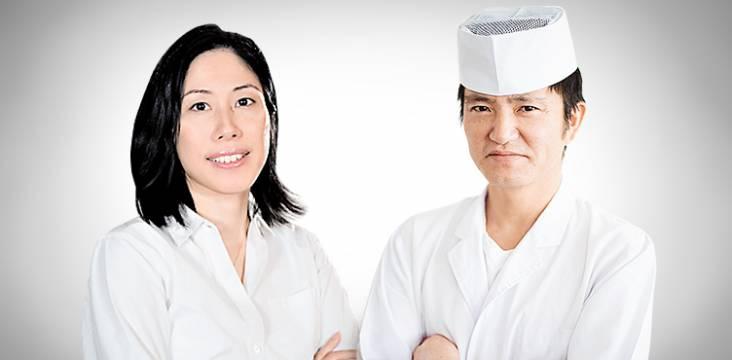 Kazumi Wickenkamp und Koch Takahashi