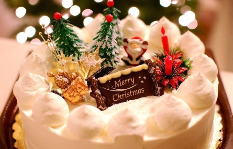 Japanische Weihnachtstorte