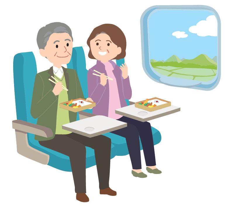 Im Shinkansen essen