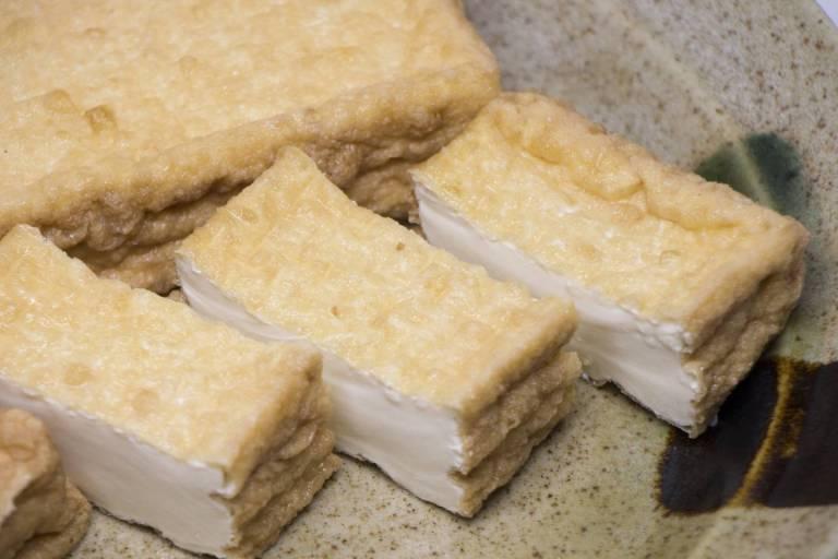 Frittierter Tōfu