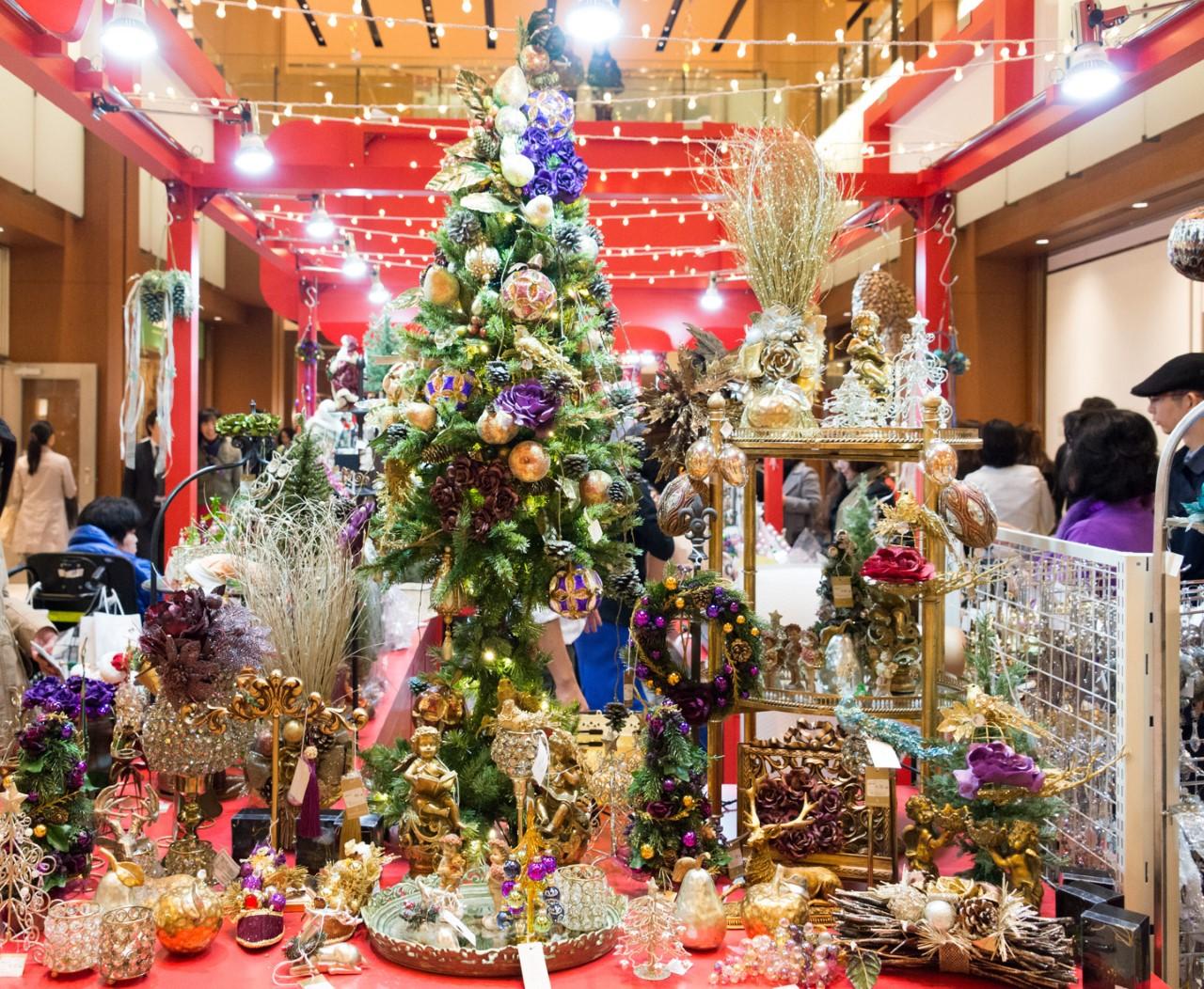 Weihnachtsmarkt in Tokyo Midtown