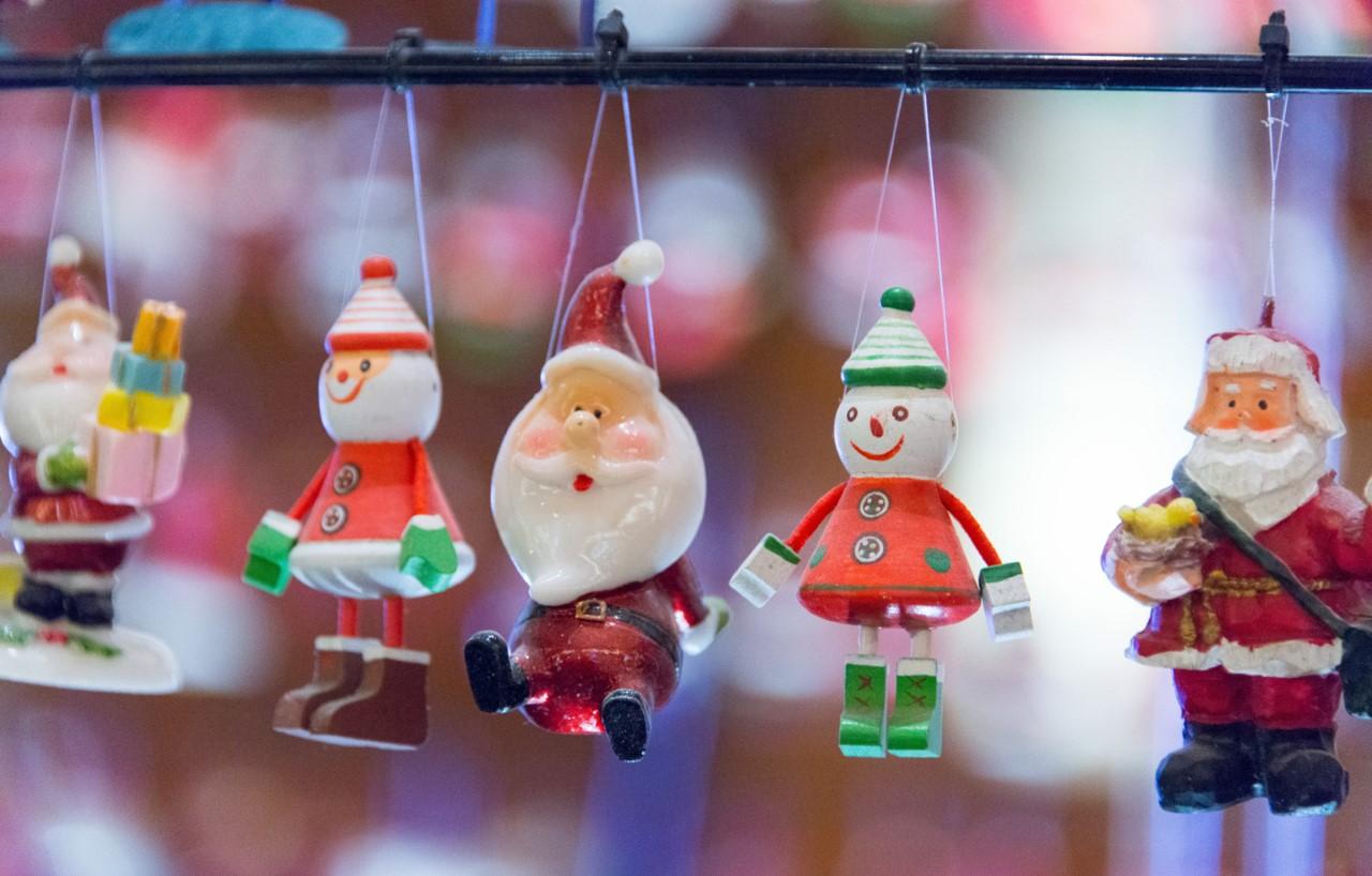 Weihnachtsfiguren-Aufhänger