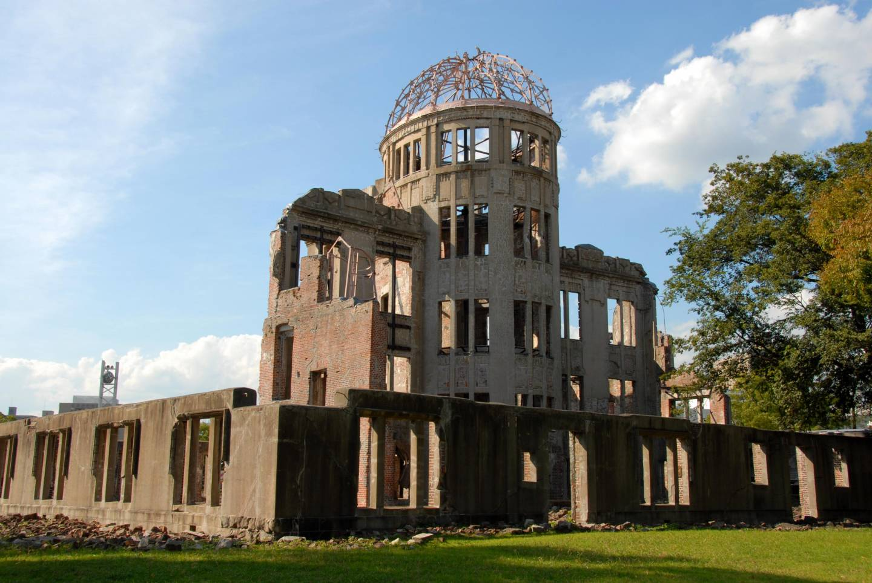 Atombombenkuppel in Hiroshima