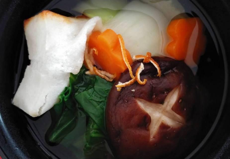 Ozoni: japanische Neujahrssuppe (vegan)