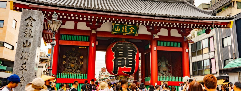 Das Donnertor in Asakusa