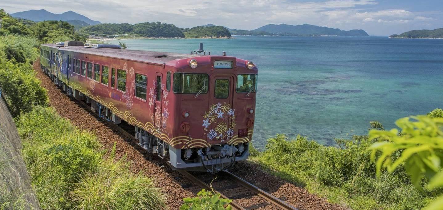 Sightseeing-Zug des marumau no hanashi