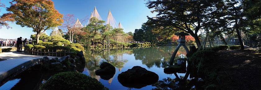Kenryokuen (Japanischer Garten) in Ishikawa