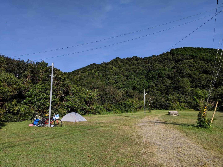 Campingplatz auf Shikoku