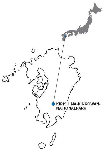 Karte von Kyûshû