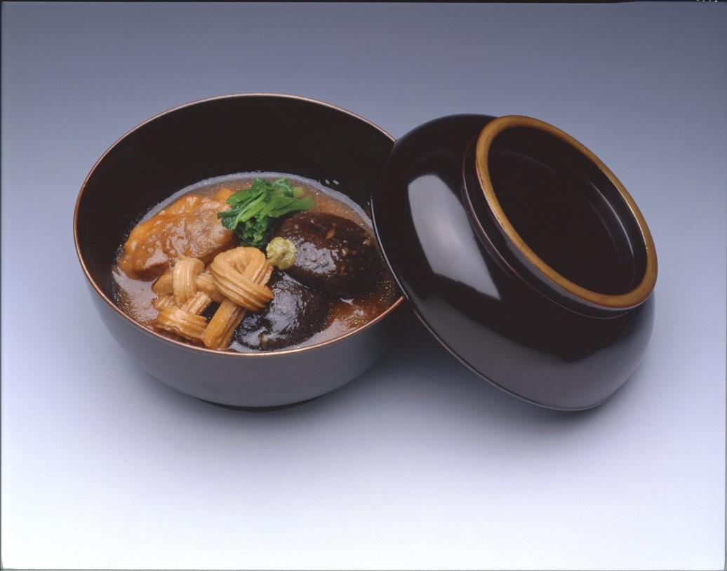 Jibu ni: Japanischer Gemüse-Gans-Eintopf