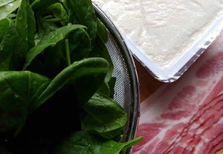 Zutaten für Tofu-Suppe
