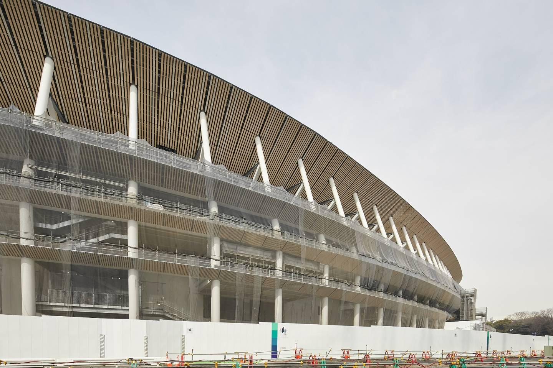 Das neue Olympiastadion in Tôkyô