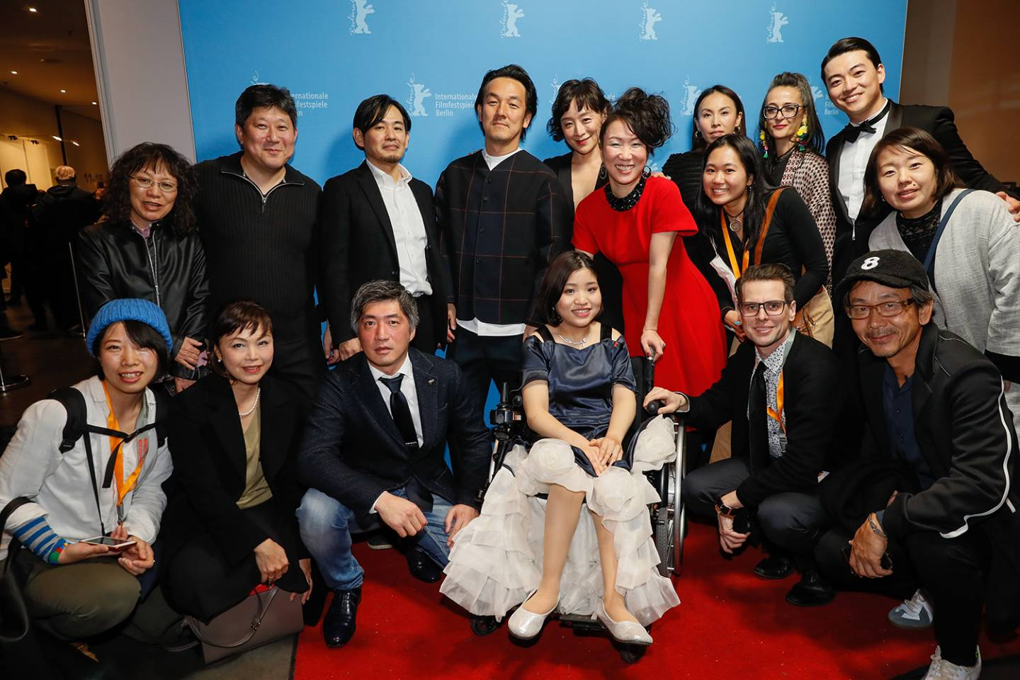 Ensemble Foto von 37 Seconds auf der Berlinale