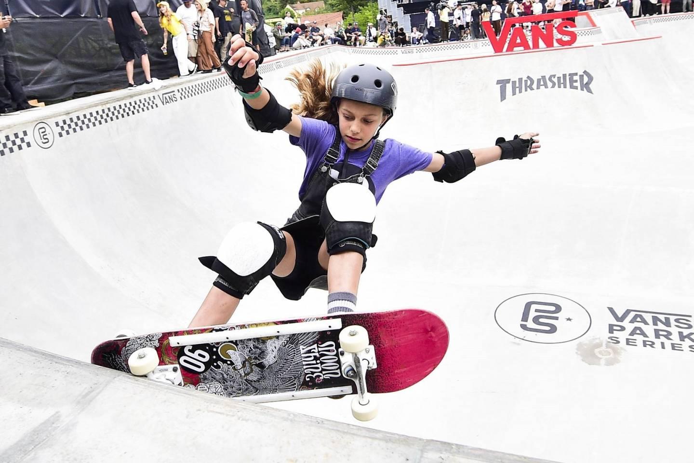 Skateboarderin Lilly Stoephasius