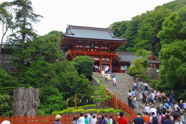 Tsurugaoka Hachimangu in Kamakura