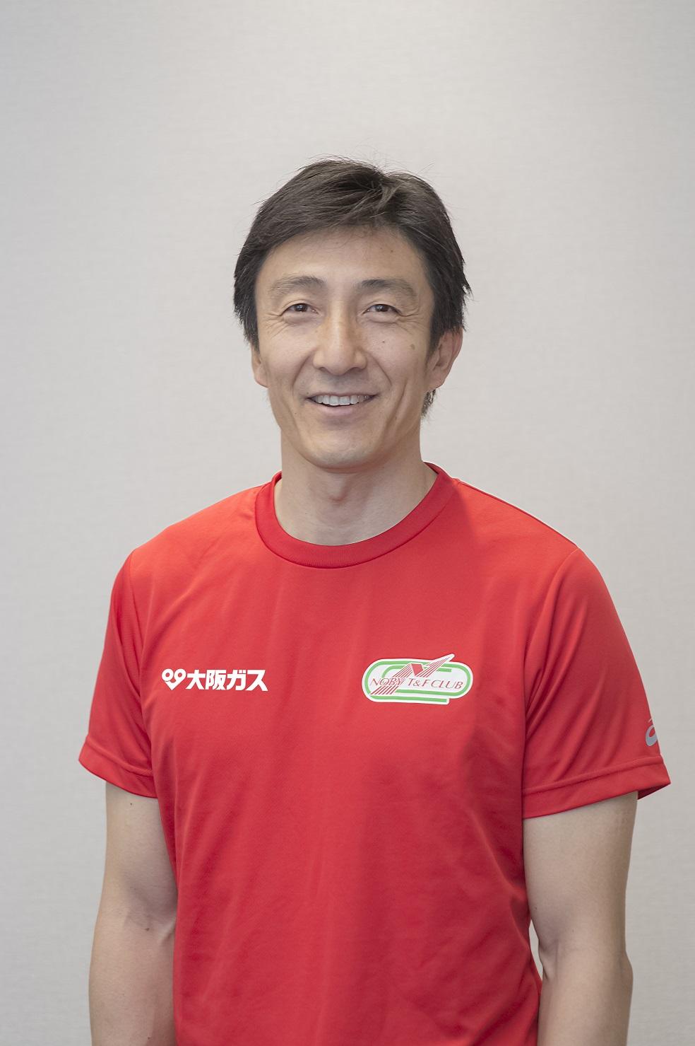 ehemaliger Leichtathlet Asahara Nobuharu