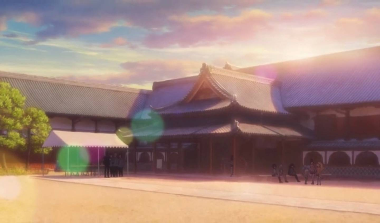 Schloss Saga im Anime
