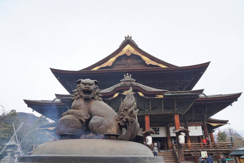 Zenkōji-Tempel