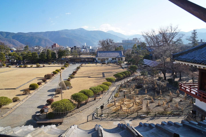 Landschaftsgarten der Burg Matsumoto