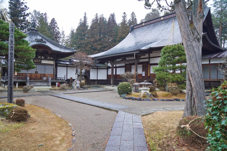 Tempel Zennōji in Takayama