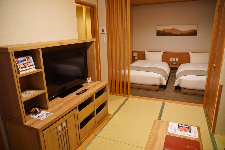 Zimmer im Hotel Onyado Yuinosho