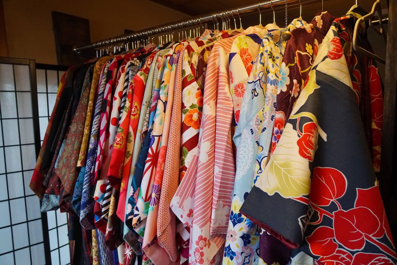 Kimono-Verleih Ichihana in Takayama