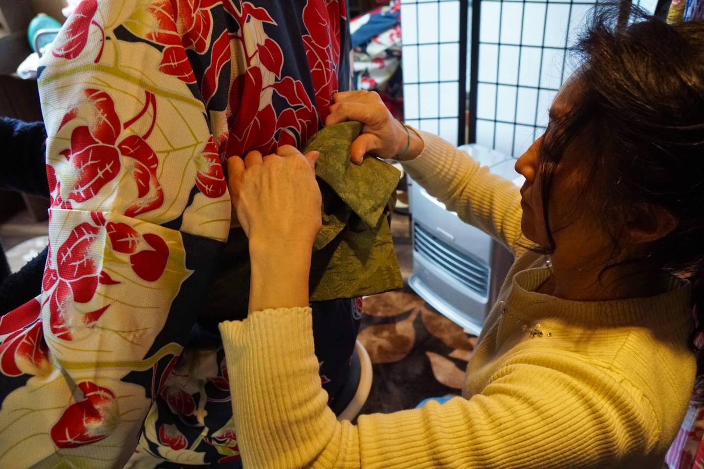 Kimonoanprobe