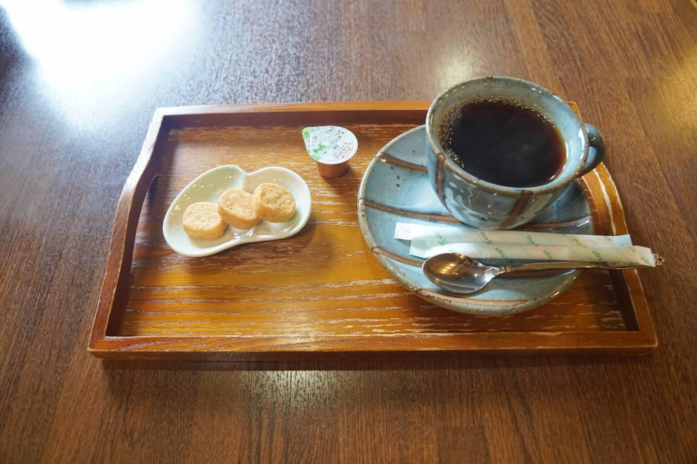 Kaffee und Süßigkeiten in Suganuma