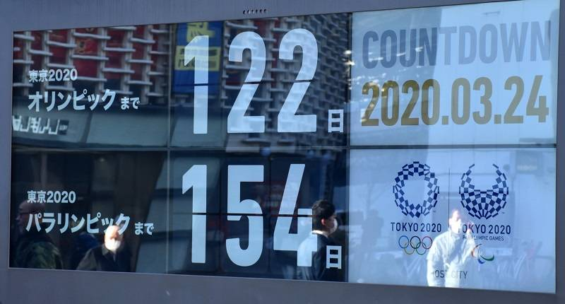 Countdown für Olympia 2020