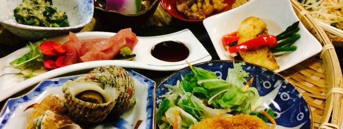 Japanisches Menü im Izakaya