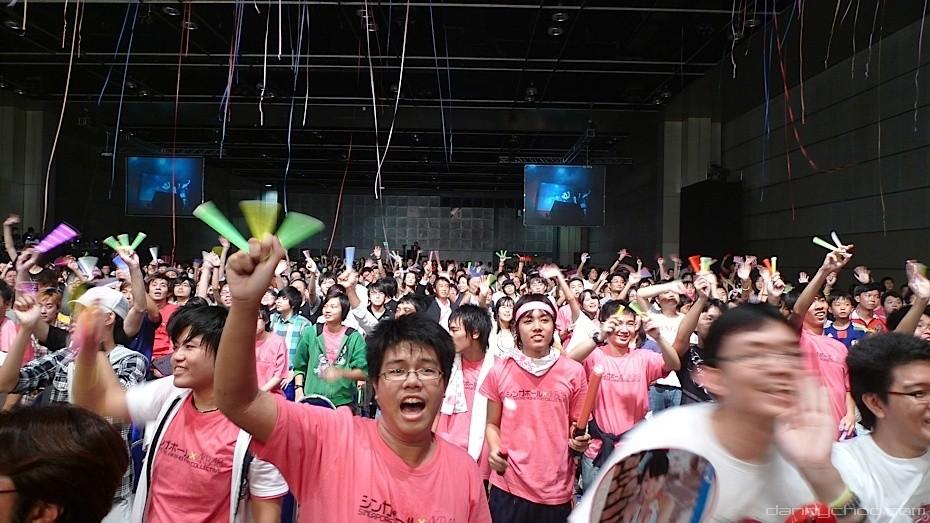 Idol-Konzert in Japan