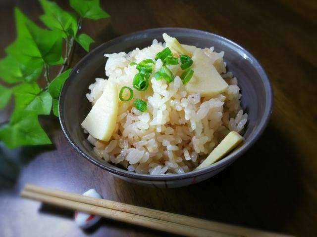 Takenoko Gohan: Bambussprossen-Reis