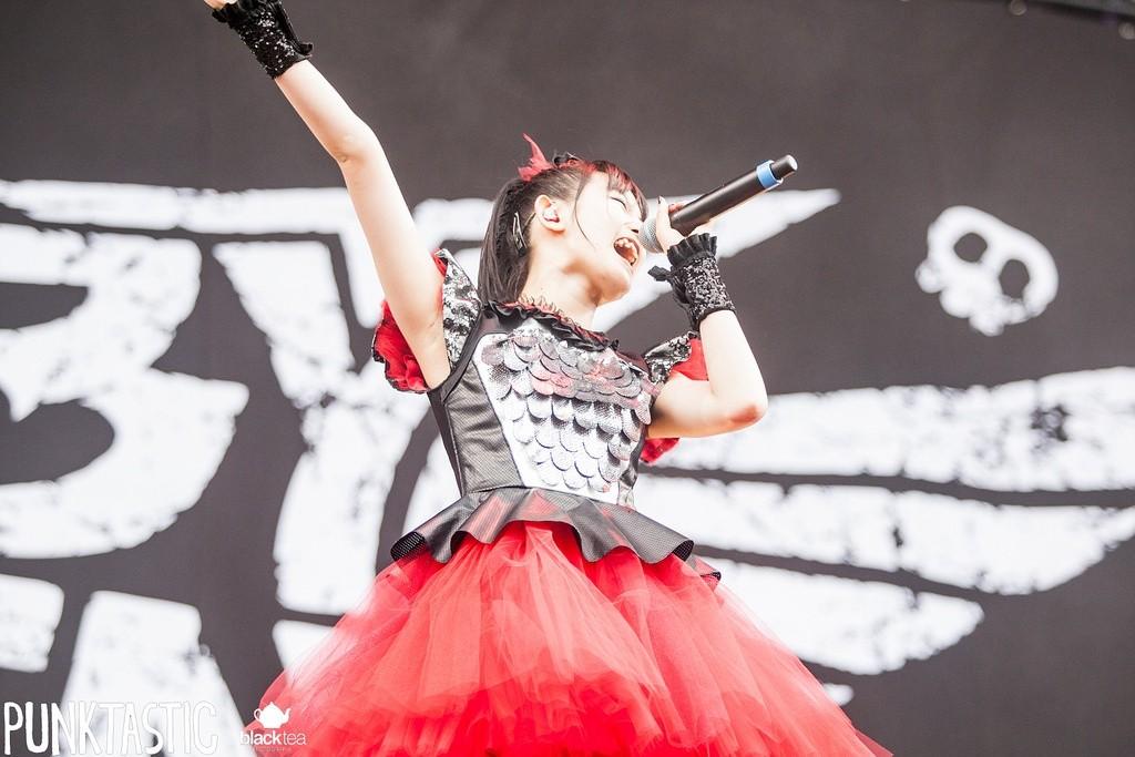 """Die japanische Band """"Babymetal"""""""