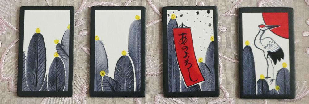 Hanafuda Januar-Karten