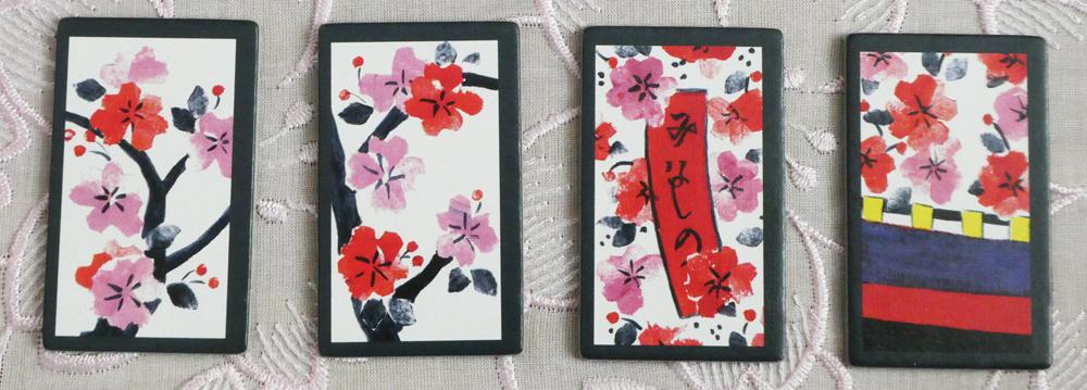 Hanafuda März-Karten