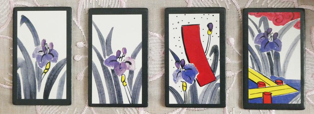 Hanafuda Mai-Karten