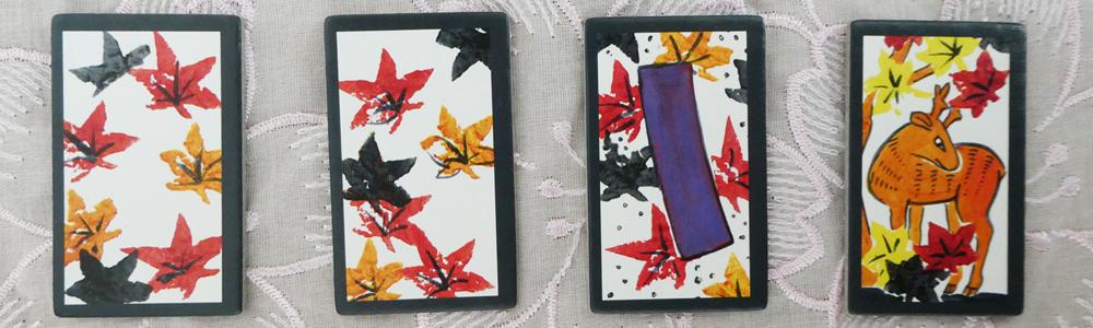 Hanafuda Oktober-Karten
