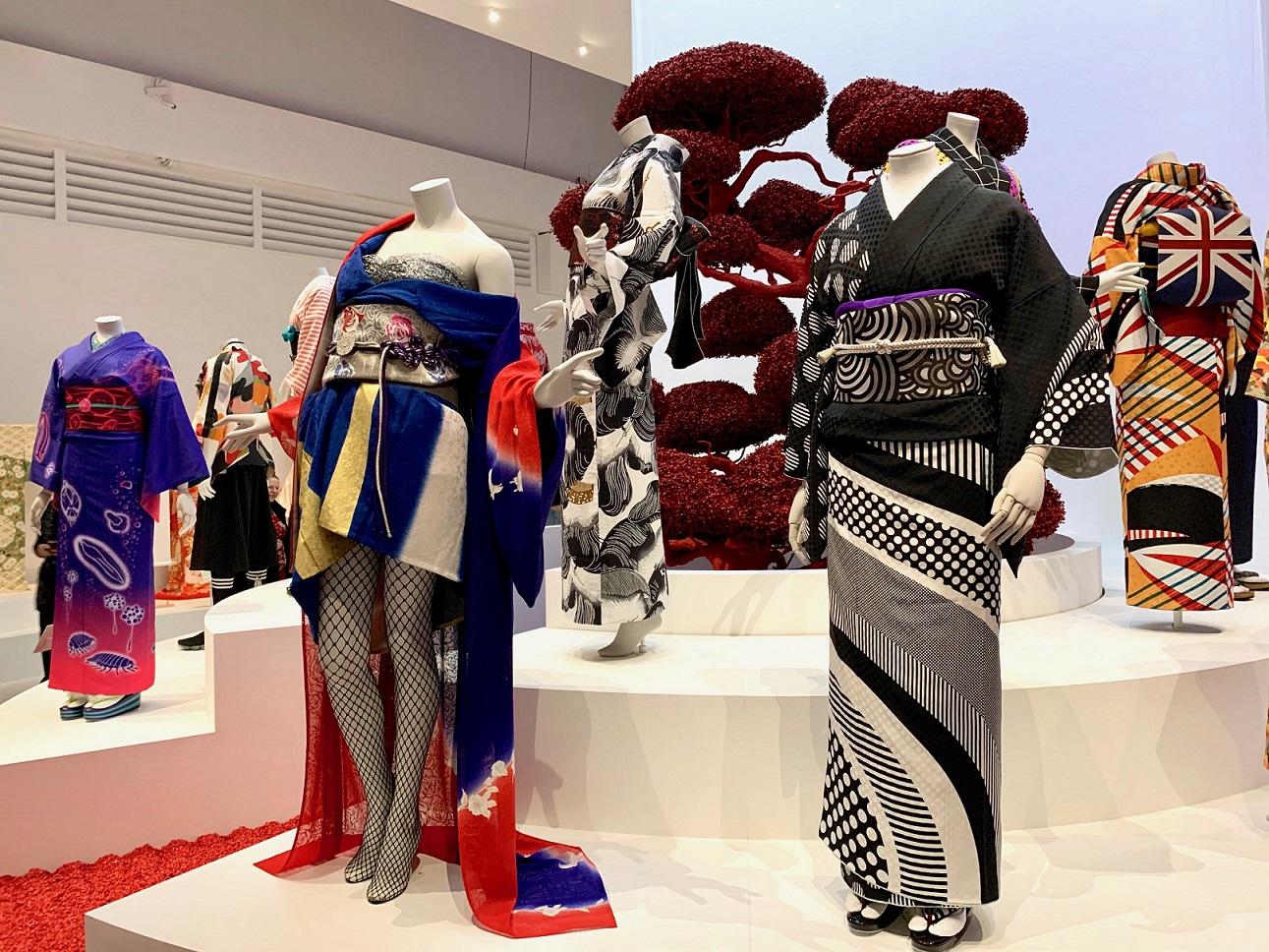 Kimono-Ausstellung in London