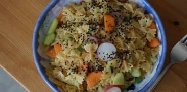 Wafū Pasta mit Miso und Gemüse