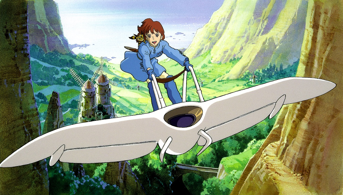 """Ausschnitt aus dem Anime """"Nausicaa aus dem Tal der Winde"""""""