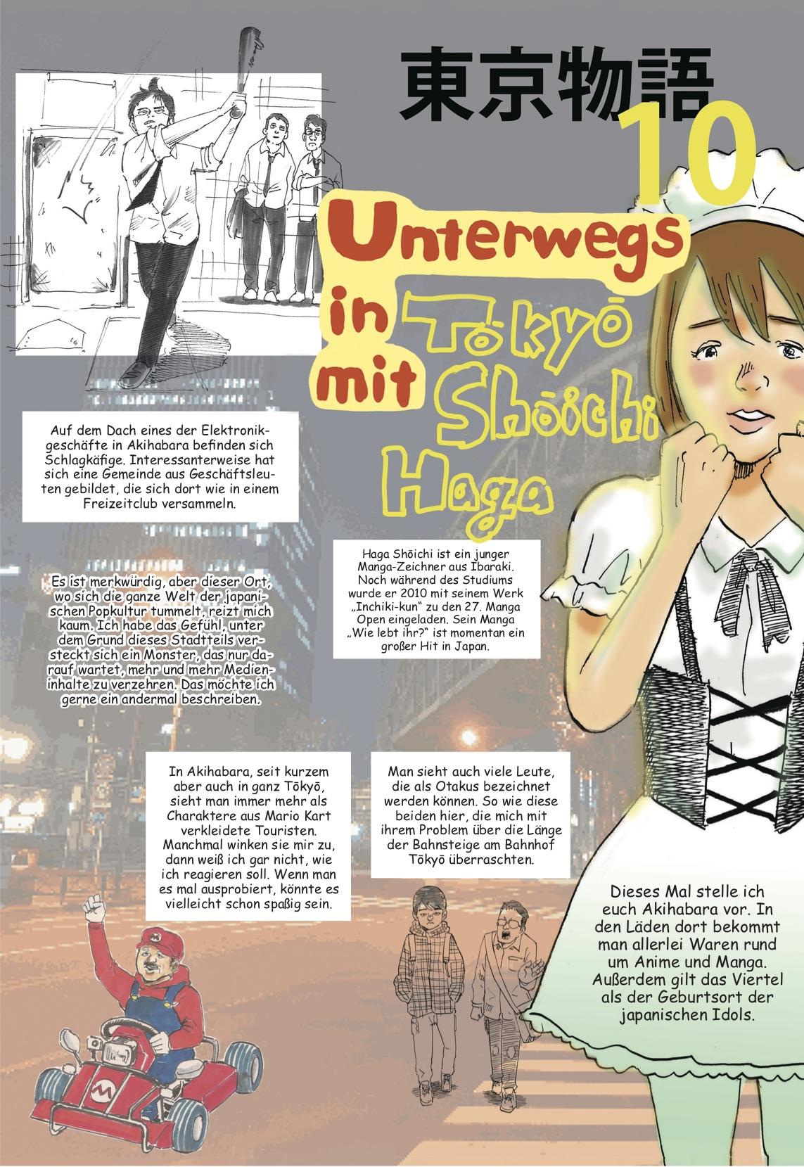 Reise-Manga: Akihabara