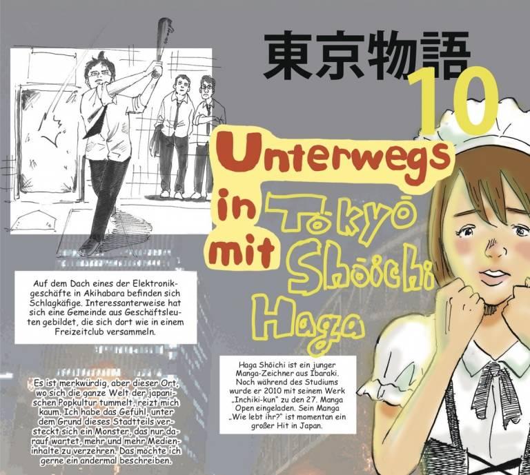 Reise-Manga: Ausschnitt