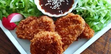 Tonkatsu mit süßer Miso-Sauce